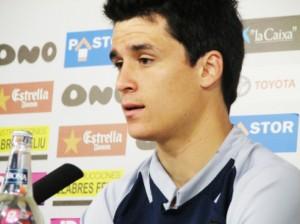Juanmi Callejon en rueda de prensa