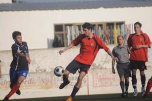 Imagen de Daza Blanco en el último partido