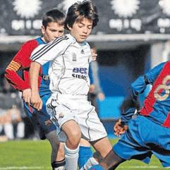 Enzo Zidane con su equipo