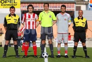 Peña Molina con los capitanes
