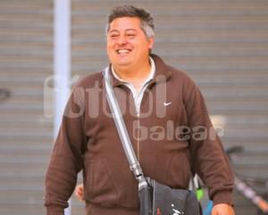 Jaime Riera el domingo en Na Capellera