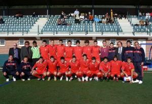 Foto archivo Sub-18 de la pasada temporada