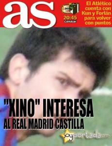 Xino ¿interesa al R. Madrid Castilla?