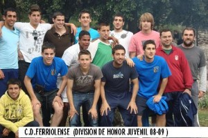 Ferriolense juvenil División de Honor.