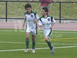 Garriga y Sard los dos goleadores del partido
