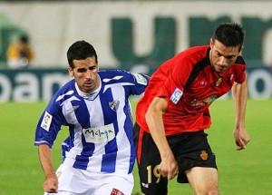 Pep Lluis Marti durante el partido en Malaga
