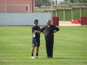 Manzano hablando con Martí