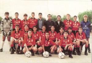 RCD Mallorca Infantil, temp. 94-95. Pulsa sobre la foto para ampliarla