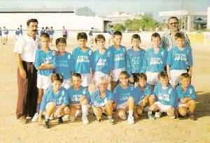 UD Arenal Benjamín F7, temp.94-95. Pulsa sobre la foto para ampliarla