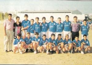 UD Arenal Infantil temp. 94-95. Pulsa sobre la foto para ampliarla
