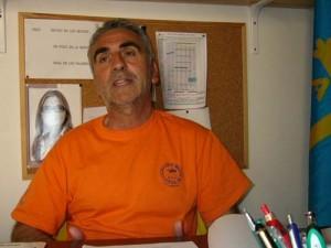 Adiós al Mercadal. El técnico, en el despacho de Sant Martí que desocupará mañana sábado