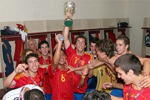 Selección Española Sub-17, actual campeona de Europa