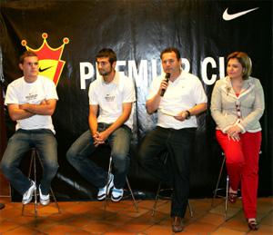 Presentación de la Nike Premier Cup 2009