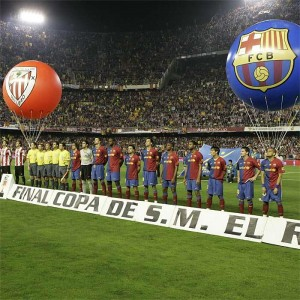 Alineaciones At. Bilbao - FC. Barcelona