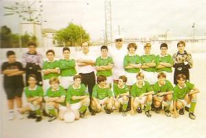 CF Vilafranca Infantil, Temp. 94-95. Pulsa sobre la foto para ampliarla
