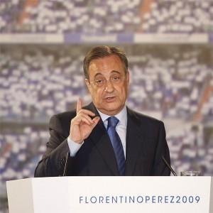 Florentino Perez anuncia su candidatura a la presidencia del Real Madrid