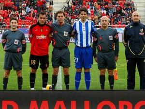 Ayza Gámez en el Mallorca-Deportivo (1-1)