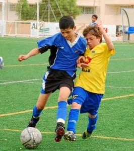 San Agustín y Rápid Atlético disputaron un encuentro igualado. Luis Herrera