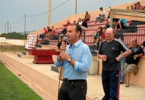 Jaume Ferrer presidente del consell de Formentera en la presentación