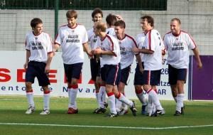 El cuadro del Multivera ha marcado 72 goles en los 40 partidos de la Liga Navarra