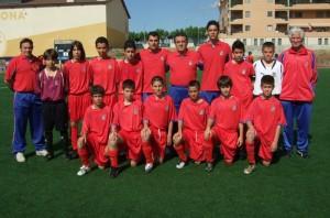 Selección Sub-12 de Antonio Barea.