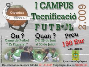 I Campus de Tecnificación de Capdepera