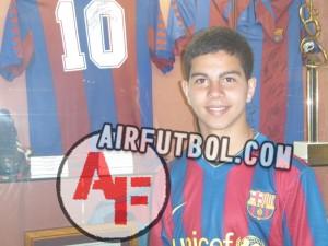 El Cadete Alejandro ficha por el Barça