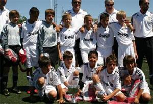 Benjamin 99 del Real Madrid