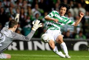 Nakamura en el Celtic