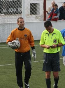 El portero Eloy renovado con el Sporting