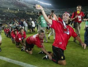 Fernando Niño en la final de copa
