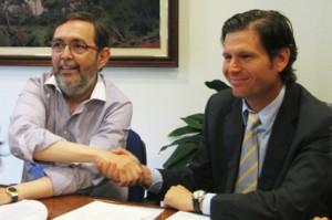 Grande y Alemany sellan la venta del Mallorca