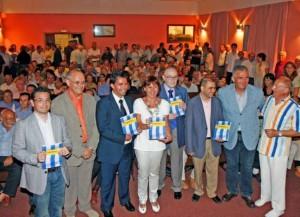 Unas mil personas acudieron a la presentación del libro Foto: B. Ramon