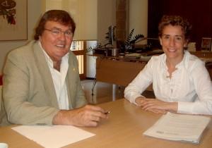 Miguel Bestard y Aina Calvo