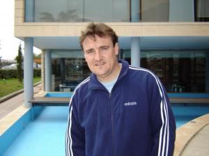 Mario Ormaechea, en las instalaciones de es Diari.