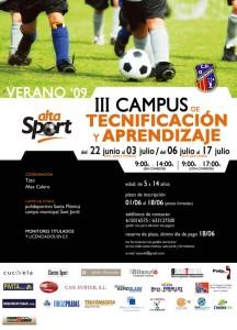 Poster del Campus del Ferriolense. Pulsa sobre la imagen para ampliarla.