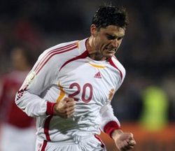 Albert Riera con la Selección Española