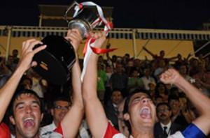 El Sevilla campeón de la copa del Rey juvenil