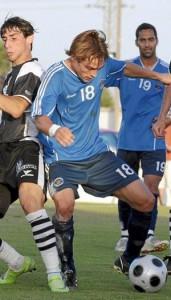 Rubén Carreras, pese a algunas molestias, será de la partida. Fotos: SERGE CASES