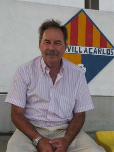 Mario Wollstein. El presidente se siente orgulloso del club a pesar de las dificultades económicas