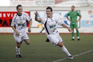 Adrián Ramos marcó siete goles con la Peña Deportiva la pasada temporada.  D.I
