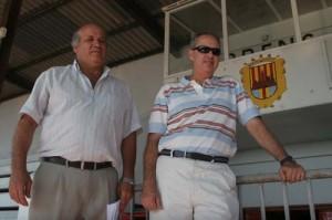 Cambio. Manolo Aguilar cumplió ayer la promesa de dejar la presidencia del At. Ciutadella