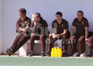 Alex García no seguirá en el banquillo del Juvenil A del Barça