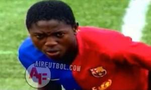 Conozca a la nueva perla del FC Barcelona, Alexis Meva