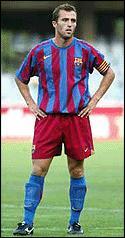 Arnau Caldentey en su etapa en el Barça