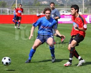 David Mateu la pasada temporada en las filas del CD. Manacor.