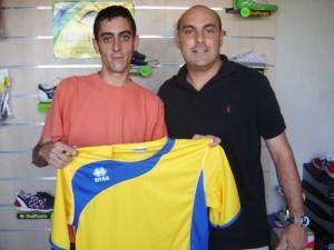 Kike nuevo jugador del Brisasport FS.