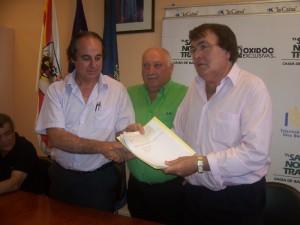 Juan Barceló recibe el dinero de Mediapolis