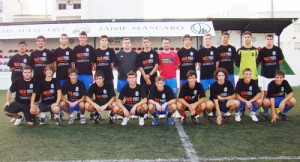 CE Ferreries. El conjunto junveil de Liga Balear que dirige el técnico Juan Romero