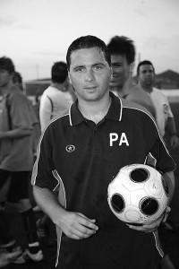 Pablo Asensio. El técnico argentino del At. Ciutadella buscará a partir de hoy centrarse en la Liga
